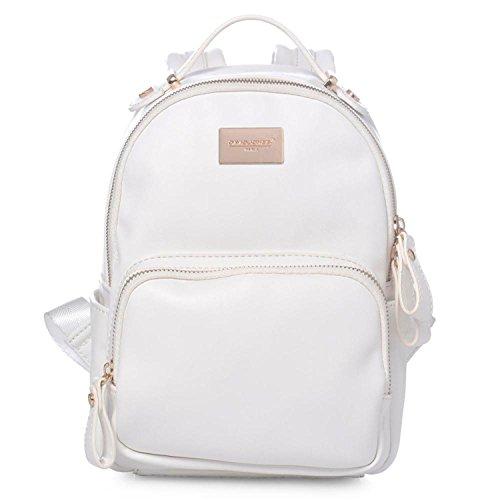 Women Mini Backpack teenager girls School Bags female shoulder bags college students causal bags ladies backpacks WHITE