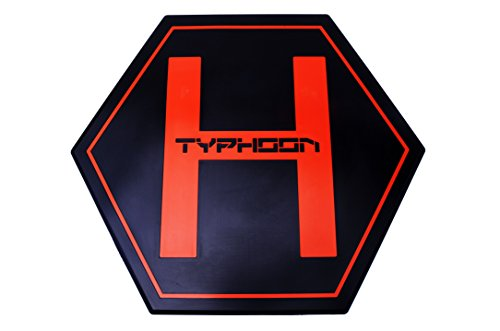 "Price comparison product image Bestem Aerial BT-MAT-TYPH 30"" Diameter/1/4"" Thickness 'Yuneec Typhoon H' Hexacopter Drone Landing Mat/Helipad"