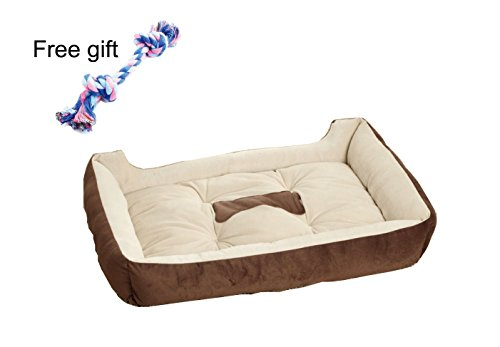 MIWIND Pet Pet Bed for Dog or Cat available in 6 sizes, Easy-to-Clean, 100% Machine - Dog Dog Dirty Big