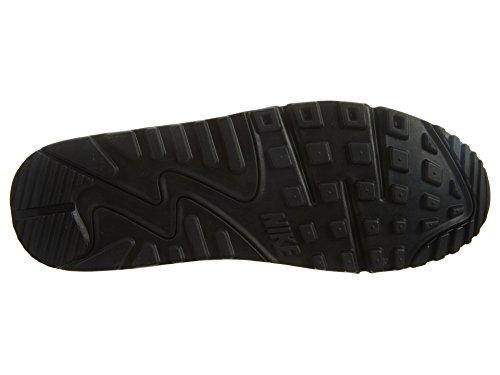 Max Nike Leather 90 Air da 001 Black Scarpe Black Nero ginnastica Uomo rrwT5qf