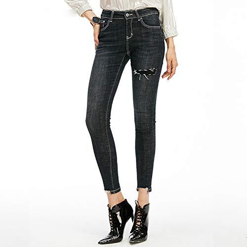 schlanken mit Jeans Femme Engen in L chern 9 S Jeans Jeans MVGUIHZPO Hosen Jeans Cent BAqnwgvw