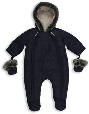 The Essential One - Trajes de Nieve Abrigo para bebé - azul marino ...