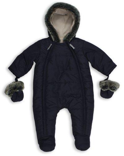 The Essential One - Baby Schneeanzug - Overall Blau - 74/80 cm EO135