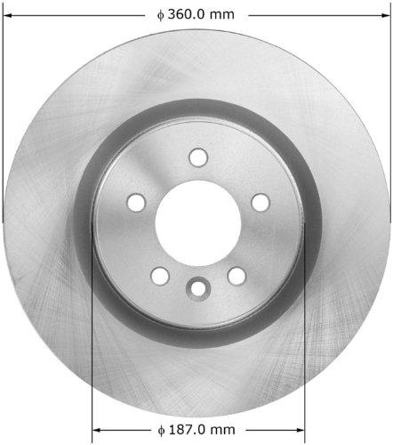 Bendix PRT5956 Brake Rotor