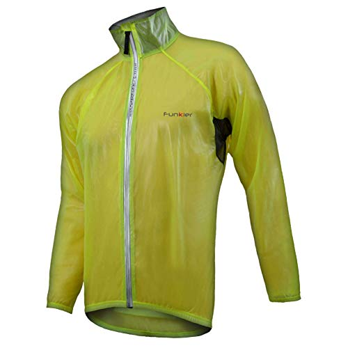 Funkier Wj-1305 Mens TPU Coated Storm Jacket Yellow 4X from Funkier