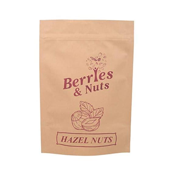 Berries and Nuts Premium Jumbo Hazel Nuts, 250g