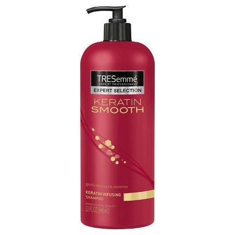 TRESemme Keratin Smooth Shampoo in Pump Bottle, 32 Fl. Oz.