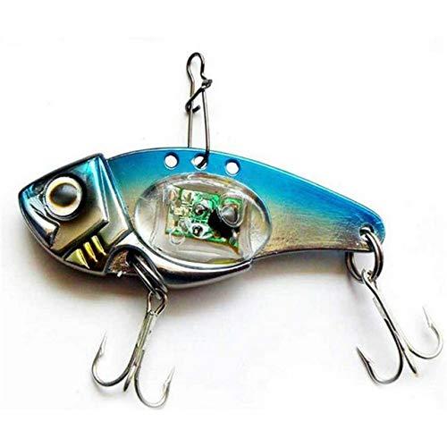 Fishing Lures - LED Light Fishing Lure Treble Hook Electronic Fishing Lamp Bait Tackle Fish Lure Light Flashing Lamp Hot - (Color: Blue)