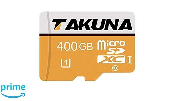 Takunas Tarjeta de Memoria Flash de Clase 10 Micro SD SDC de ...