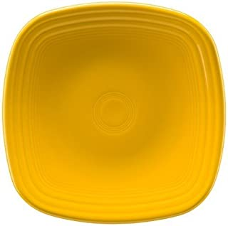 product image for Homer Laughlin Fiesta Square Luncheon Plate, Daffodil