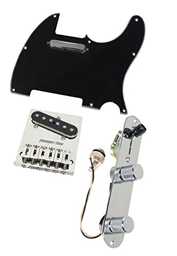 Fender Tele Telecaster Loaded Pickguard Texas Special Pickups Hipshot Bridge BK