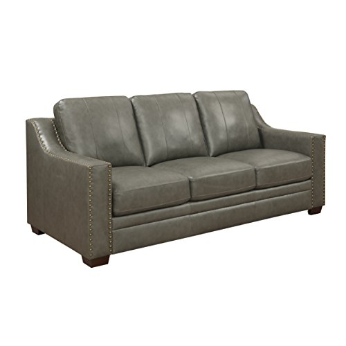 Stylistics Harrison Leather Sofa, 83