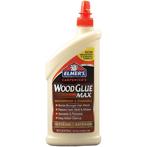 Elmer's E7310 Carpenter's Wood Glue Max, Interior/Exterior, 16 - Glue 1 Max