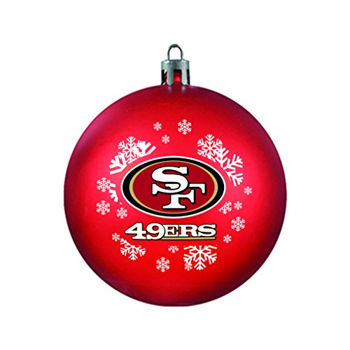 NFL San Francisco 49ers Shatterproof Ornament