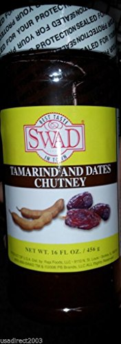 (Indian Groceries, Swad Tamarind & Dates Chutney - 16oz.,)