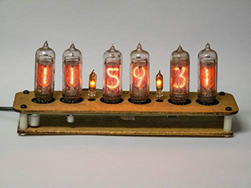 Nixie Tube Clock IN-14 (with Tubes)