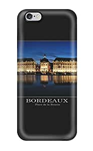 TYH - 7398574K31012337 Scratch-free Phone Case For Iphone 6 plus 5.5- Retail Packaging - Bordeaux phone case