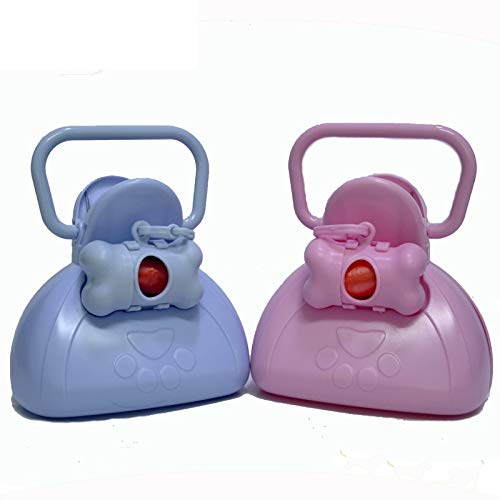 Bubble-Princess - Litter Cleaning Dog Scoop Plastic Shovel Sanitary Bags Dogs Sterilization Perro Orina Pick Up Tool Perro Pet Products
