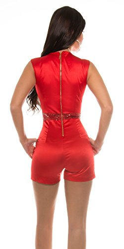 In-Stylefashion - Pantalón - para mujer Rojo