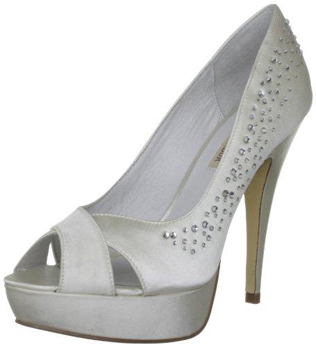 Satén Blanco Wedding Boda Leila Mujer De Menbur Ivory Zapatos aOXqTv