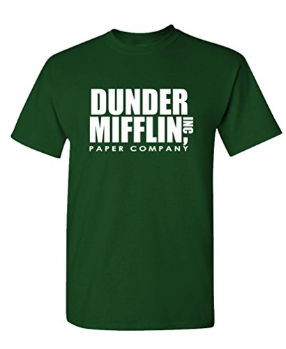 The Goozler - Dunder Mifflin - Office Paper Company - Mens Cotton T-Shirt, S, ()