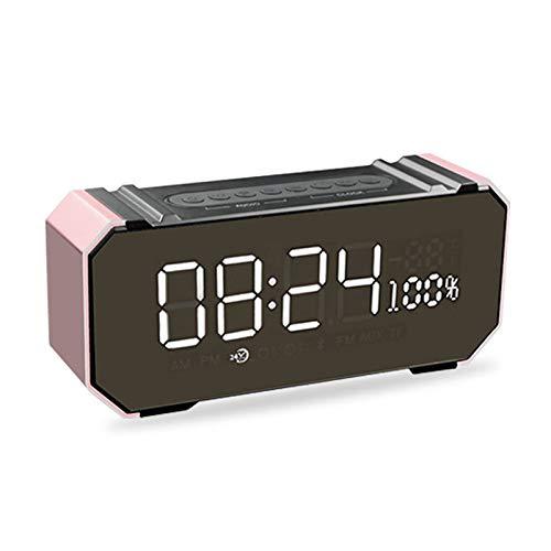 xingganglengyin Private Mode Alarm Clock Bluetooth Speaker Aluminum Wireless car subwoofer Computer Audio Radio by xingganglengyin (Image #1)