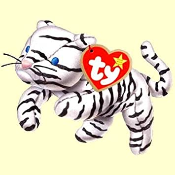 Blizz the Snow Tiger - McDonalds Ty Teenie Beanie MIP - 2000 #10 by Teenie