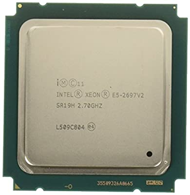 PC Server and Parts Intel Xeon E5-2697 v2 SR19H 2.70GHz 30M 12-Core LGA2011 CPU Processor