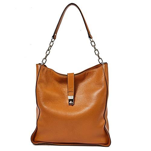 Genuine Leather Handbags for Women Soft Hobo Bag Supple Bucket Bag Totes Shoulder Handbags (Leather Bucket Bags Handbags)