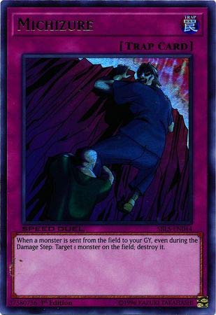 - Yu-Gi-Oh! - Michizure - SBLS-EN044 - Ultra Rare - 1st Edition - Speed Duel Decks - Arena of Lost Souls