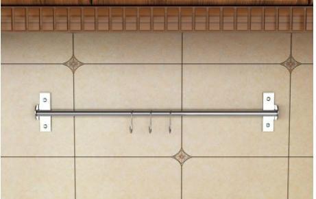 GuiXinWeiHeng Appendini da cucina in acciaio inox appendiabiti da ...