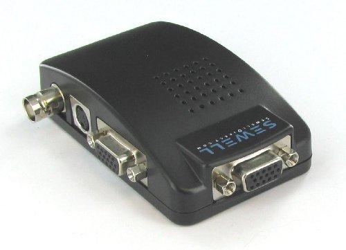 EZ-BNC by Sewell, BNC to VGA Video Converter BNC to VGA Converter, VGA Pass Through