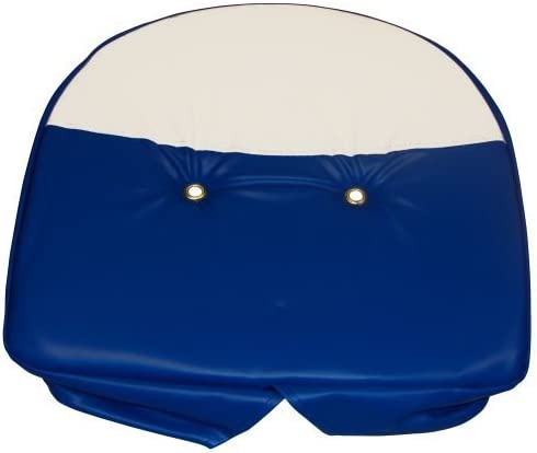 Complete Tractor 1110-1702 Seat Cushion for Ford Tractor Blue White
