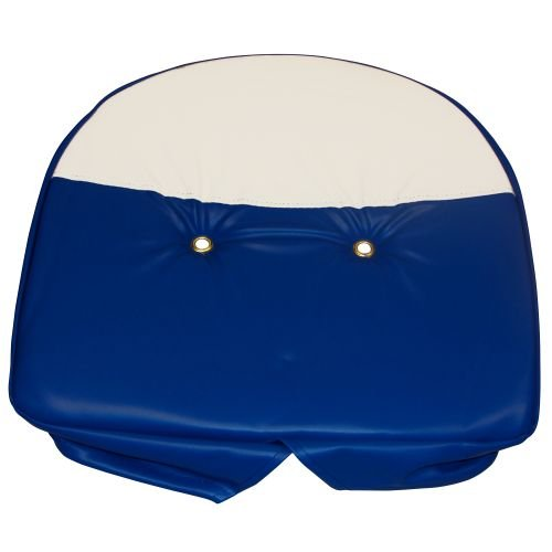 Complete Tractor 1110-1702 Seat Cushion (for Ford Tractor Blue & White) by Complete Tractor