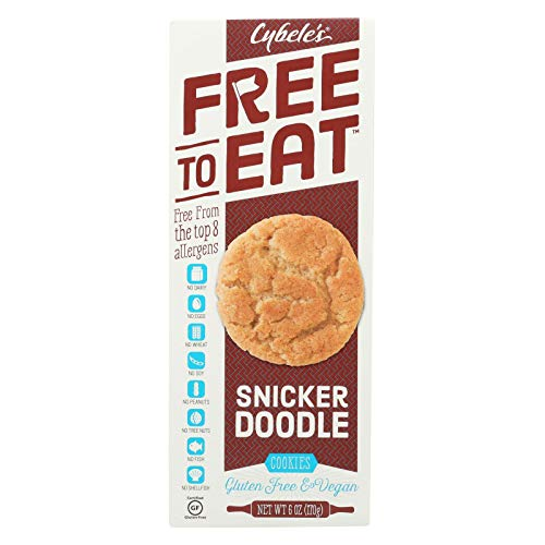 Cybel'S Free To Eat, Cookie, Free To Eat, Snickerdoodle, Pack of 6, Size - 6 OZ, Quantity - 1 Case (Cybele Cookies)