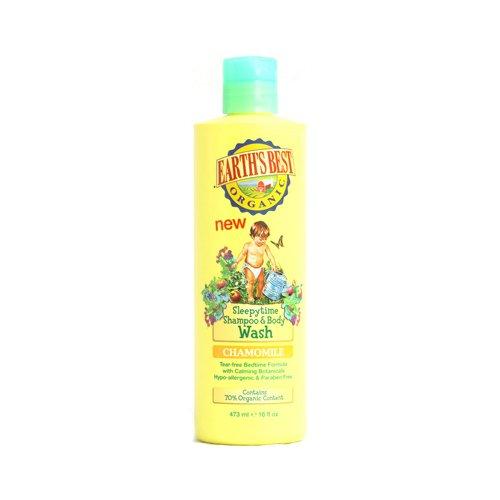 Earths Best Organic Sleepytime Shampoo