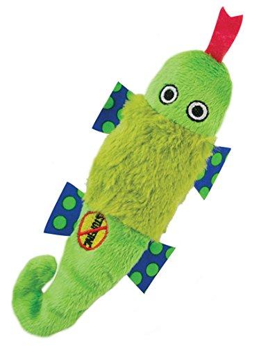 (Petstages 649 Stuffing Free Lizard, Petite Fun Squeaking Plush Dog)