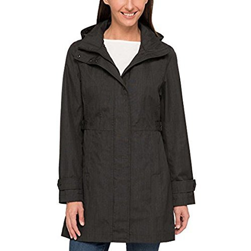 Kirkland Signature Ladies Trench Coat (Small, Charcoal) by Kirkland Signature