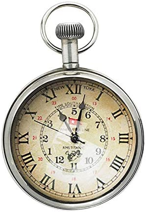 Authentic Models, Savoy Pocket Watch, Vintage Piece – Silver Polished, 2 x 3