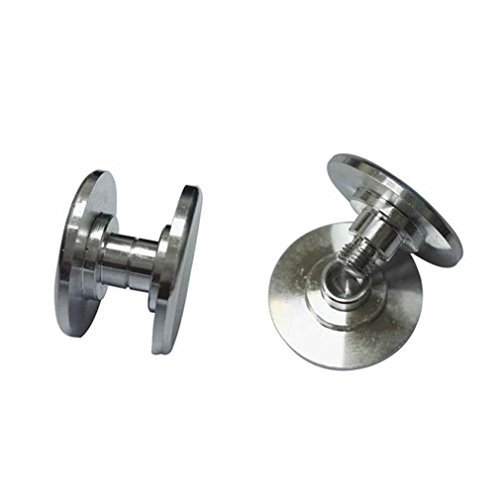 Hot Sale! AMA(TM) Stainless Steel Thumb Button for 606 Bearing Cap EDC Focus Toy Spinner (Silver) (Easy Halloween Finger Foods)