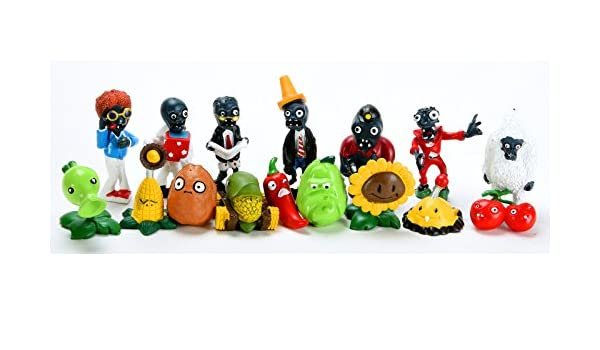 Amazon.com: 16x Plants Vs Zombies Toys Series Game Different Role Figure Toy PVC Display New: Toys & Games