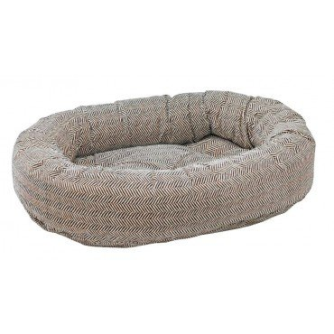 Bowsers Donut Bed, X-Large, Herringbone