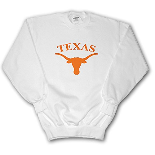 University - Texas Longhorn - Sweatshirts - Adult SweatShirt Large (ss_3085_3) (Pullover Texas Longhorns)