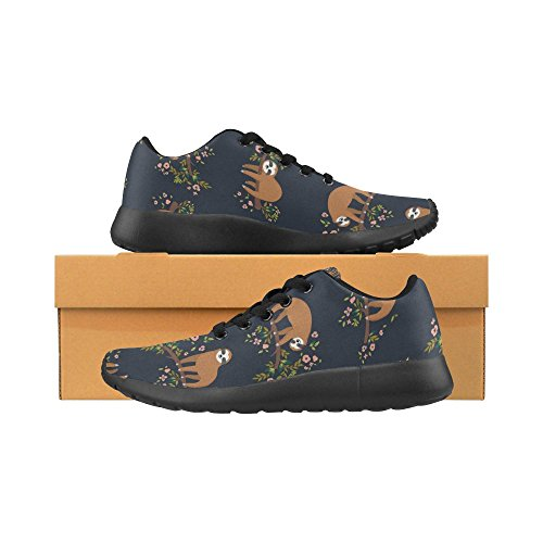 InterestPrint Womens Cross Country Trainer Trail Running Shoes Jogging Lightweight Sports Walking Athletic Sneakers Multi 9 L2MMSzT