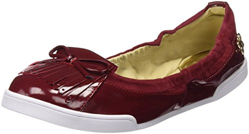 Butterfly Twists Robyn, Damen Slipper Rot (Ruby Red)