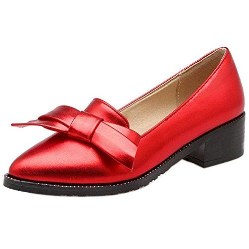 Zapatos 3 Mujer red Para Zanpa zxBdw4qXA