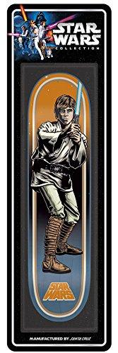 Santa Cruz Star Wars Luke Skywalker Collectible Skateboard Deck, Assorted, 31.7