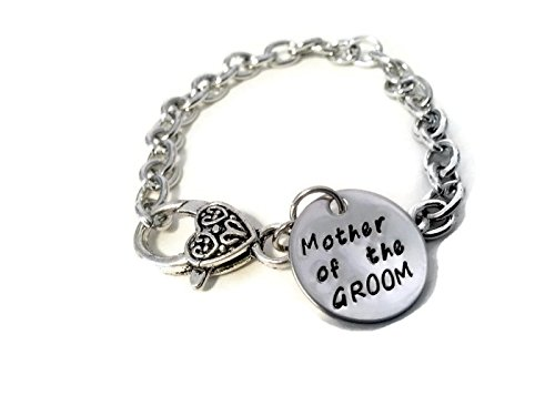 """Mother of the Groom Bracelet with Printed Card """"Today a Groom Tomorrow a Husband...forever Your Little Boy"""", Wedding Gifts for Mothers"""