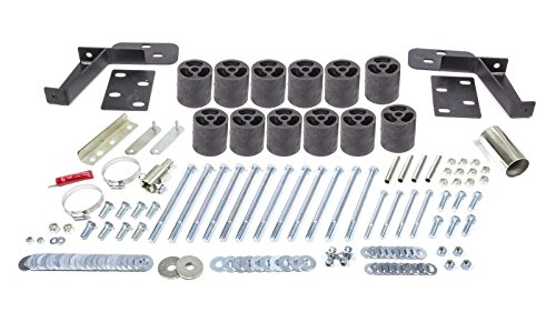 Performance Accessories, Chevy/GMC Tahoe/Yukon/Suburban 1500 Gas 2WD and 4WD 3″ Body Lift Kit, fits 1995 to 1999, PA123, Made in America