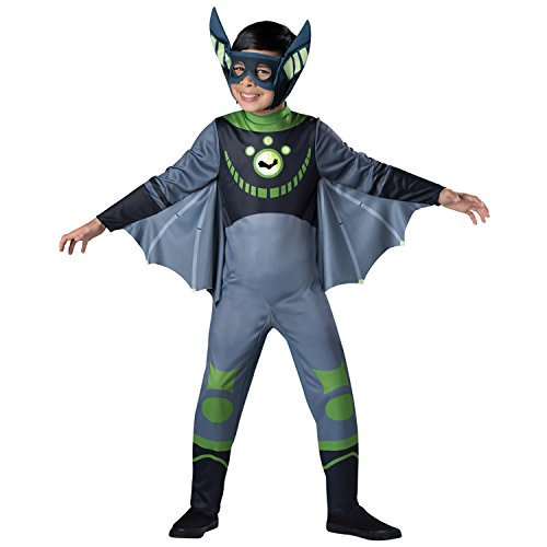 InCharacter Costumes Bat - Green Costume, One Color, Small